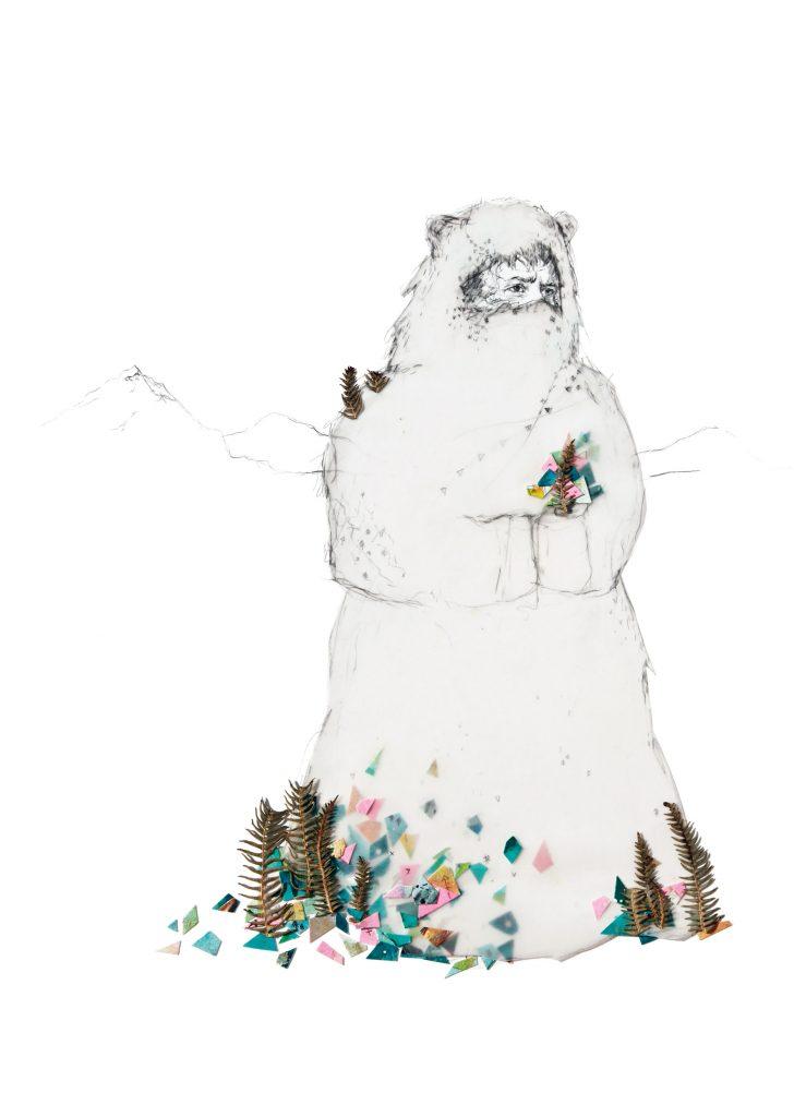 Deirdre Byrne Yeti Illustration