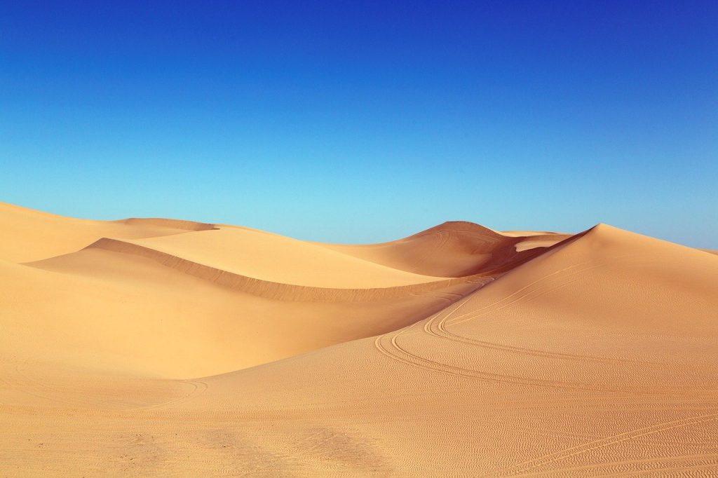 desert, dunes, algodones dunes